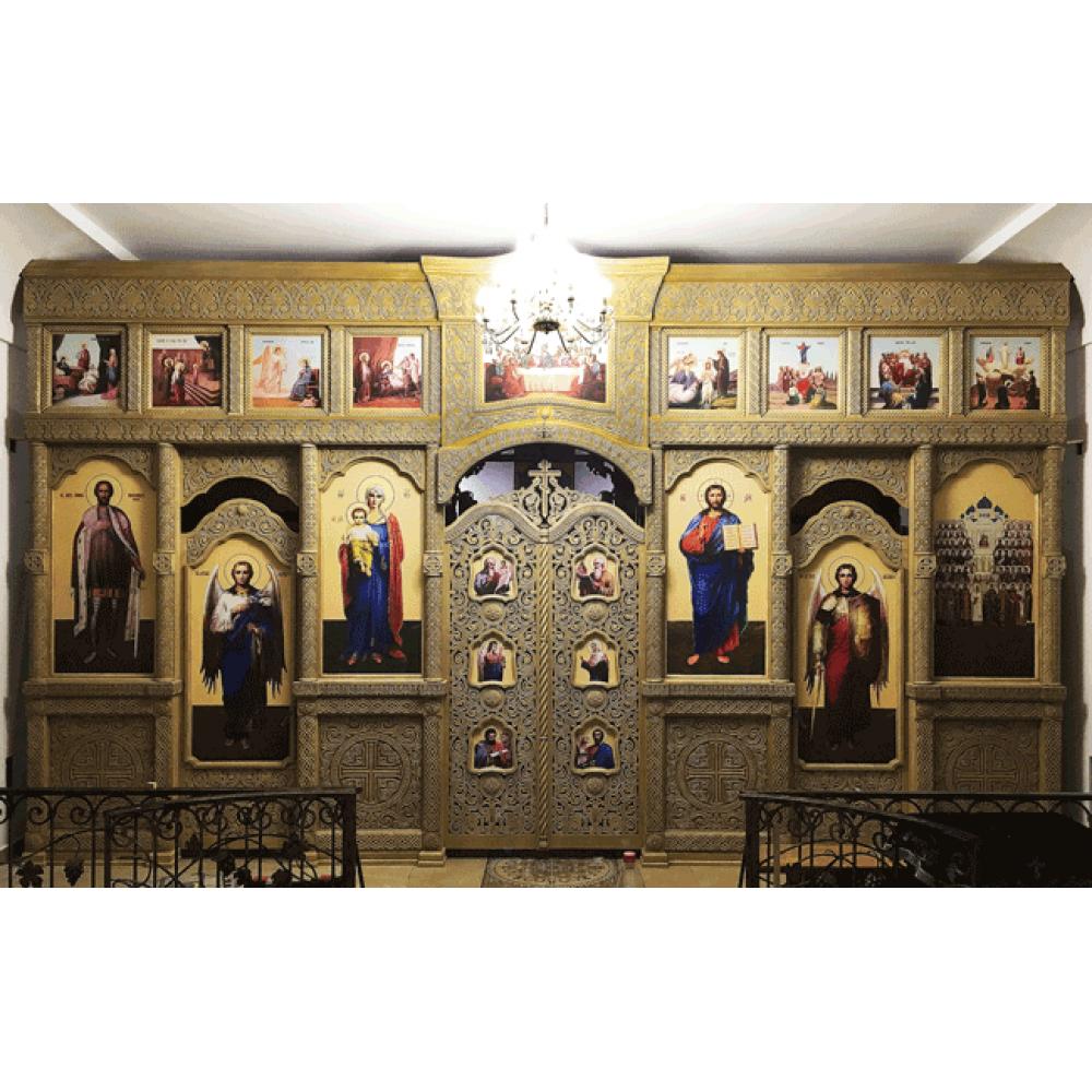 Иконостас Русских Св.